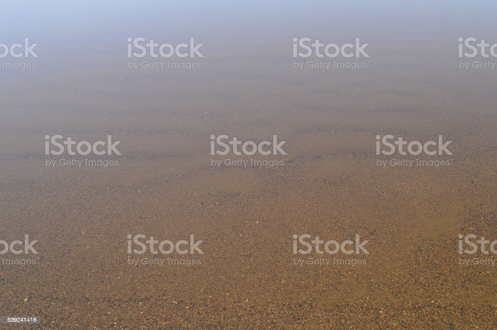 Sandy beach bottom relief natural background royalty-free stock photo