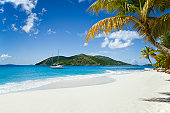 Sandy Cay, British Virgin Islands - tropical island in the Caribbean