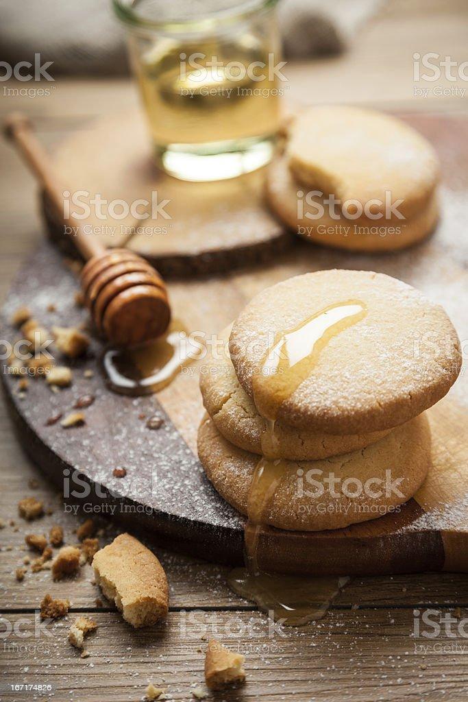Sandy Cookies royalty-free stock photo