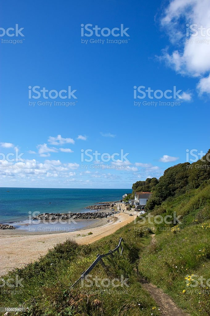 Sandy Cove stock photo