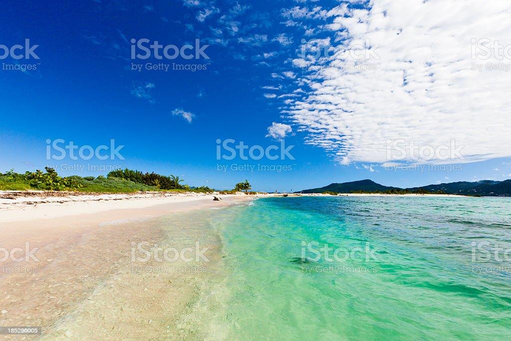 Sandy Island, Grenada royalty-free stock photo
