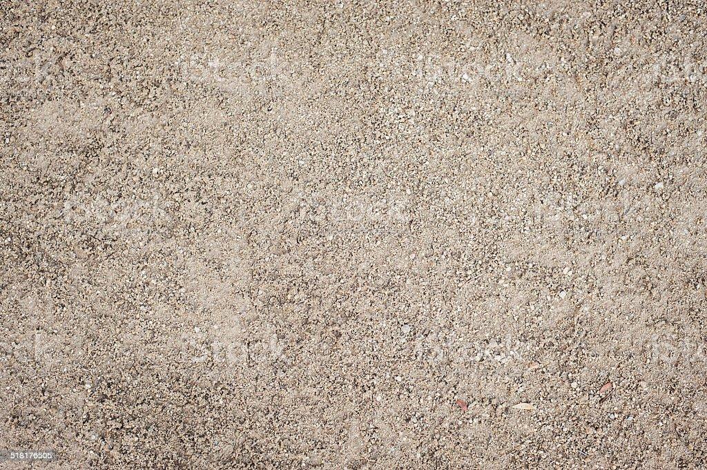 Textura de solo arenoso - foto de acervo