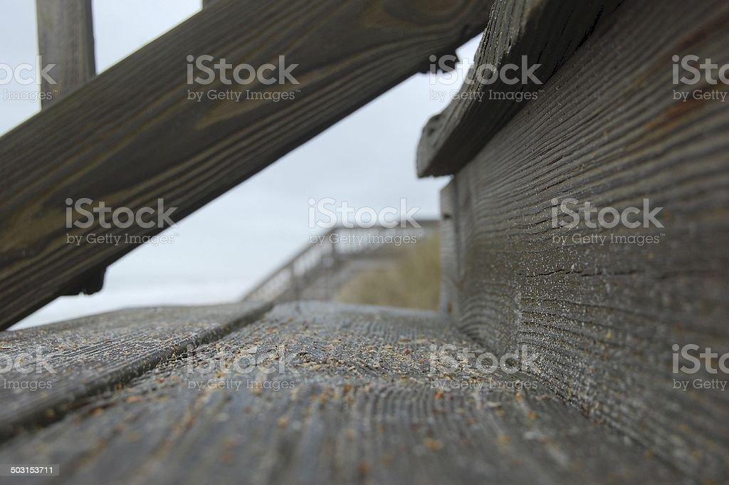Sandy Steps stock photo