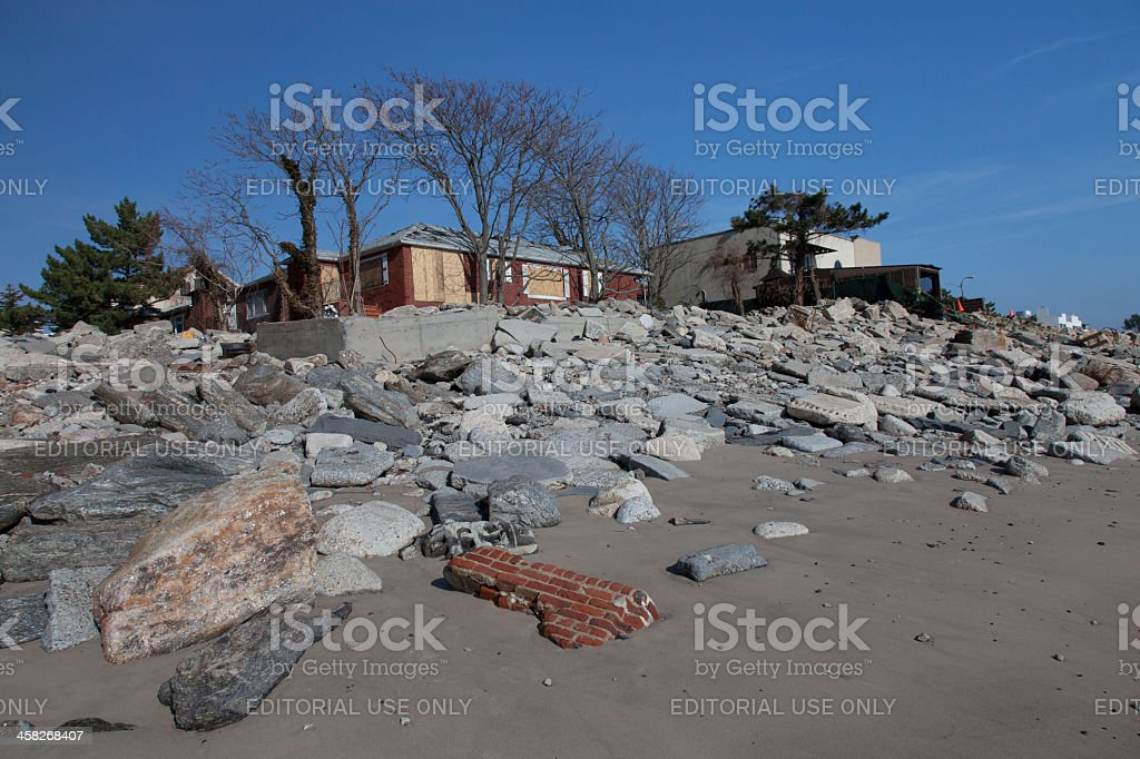 Sandy's Aftermath royalty-free stock photo