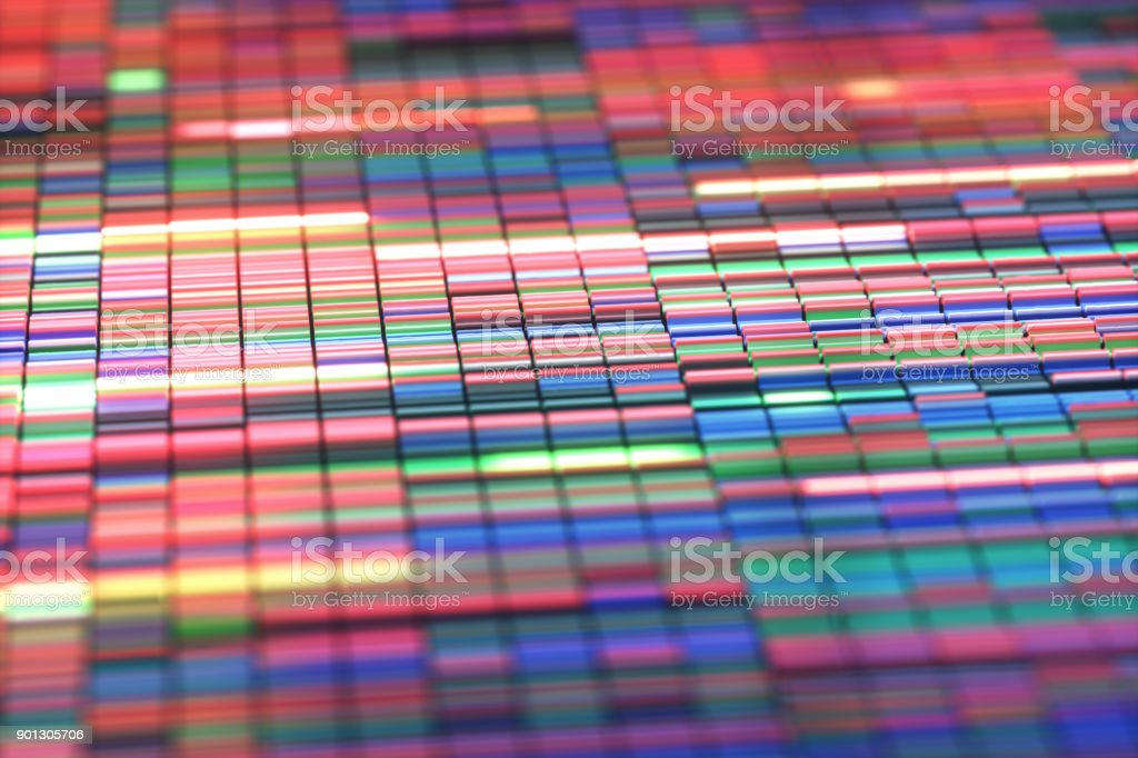 Sanger Sequencing Background stock photo