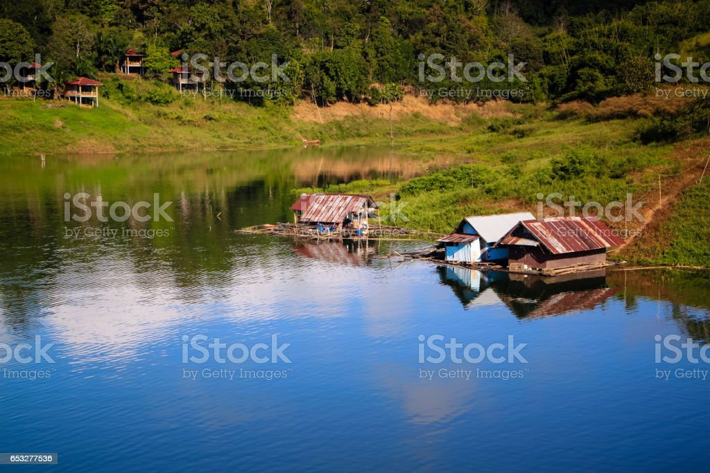 Sangklaburi province, kanchanaburi Thailand stock photo