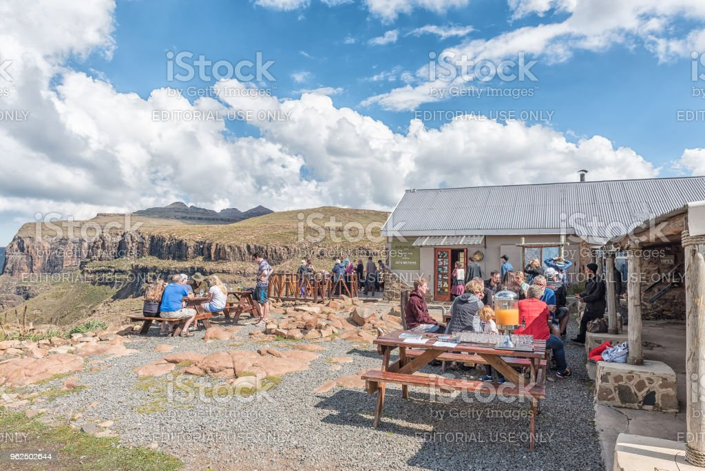 Sani Mountain Lodge claims title as highest pub in Africa - Royalty-free Adult Stock Photo