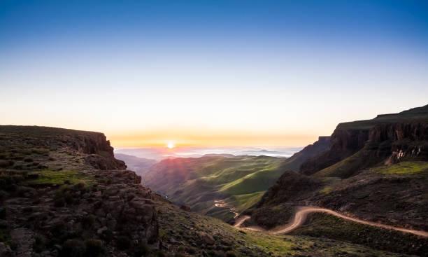 Sani Pass Sunrise – Foto