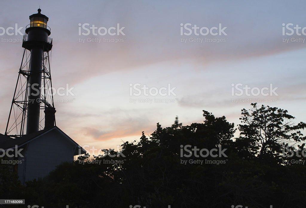 Sanibel Island Lighthouse - Royalty-free Ancient Stock Photo