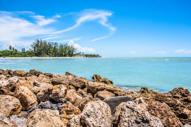 Sanibel Island stock photo