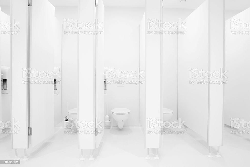 public bathroom doors. Sanitary Public Restroom Bathroom WC Stock Photo Doors