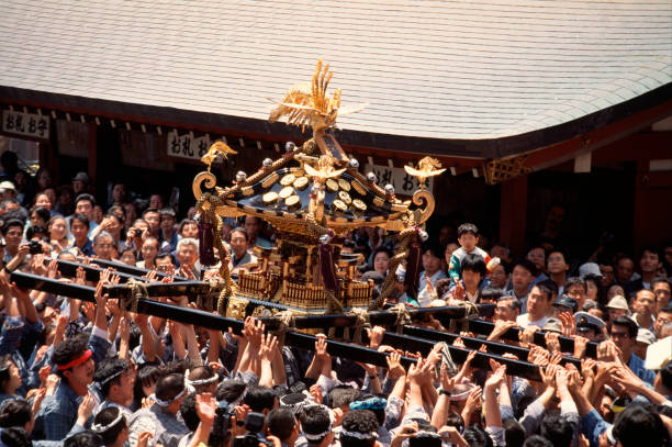 三社祭 - 伝統的な祭り ストックフォトと画像