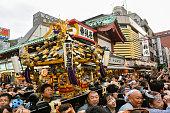 サニャフェスティバル、東京で日本の祭り