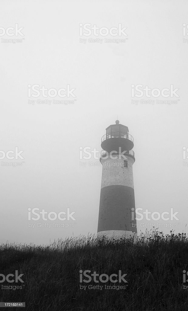 Sankaty Lighthouse II royalty-free stock photo