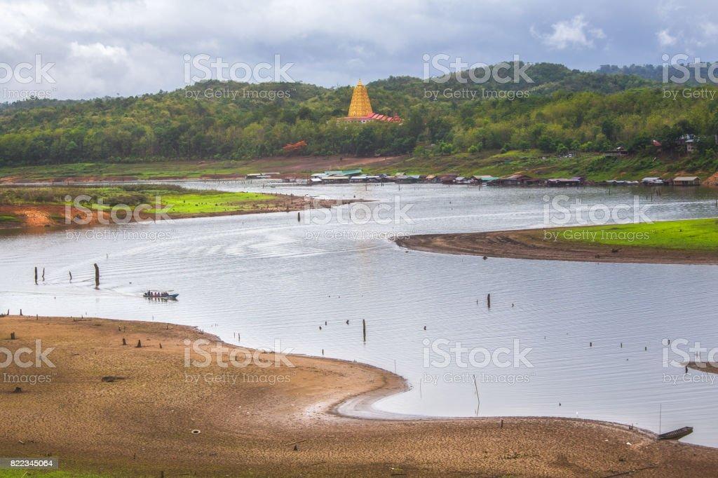 Sankhaburi City , Kanchanaburi Province, Thailand stock photo