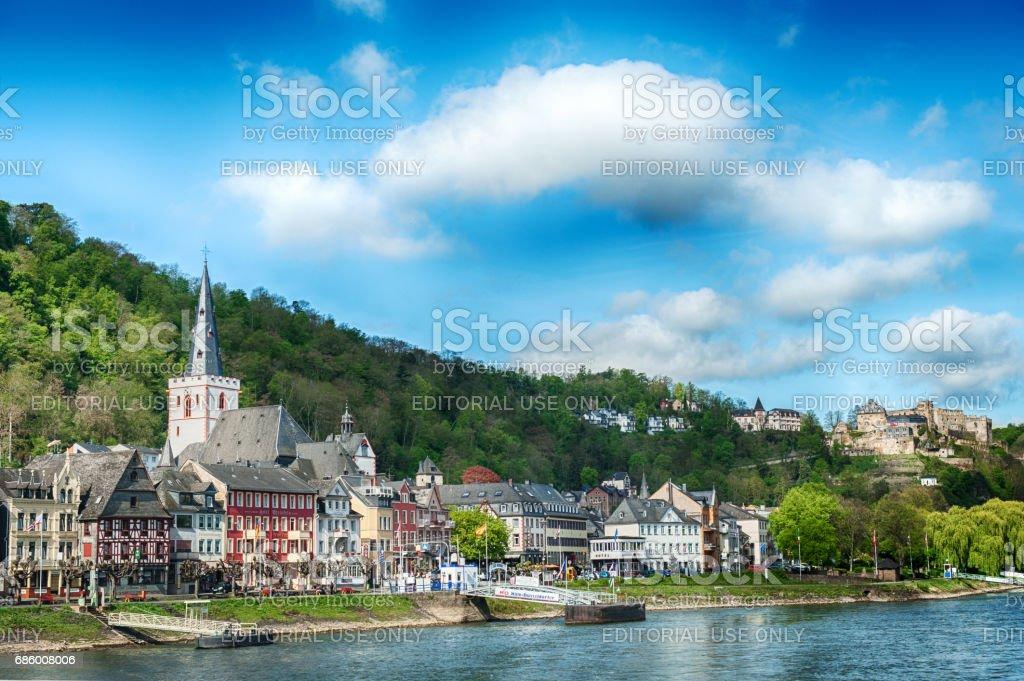 Sankt Goar, Germany stock photo
