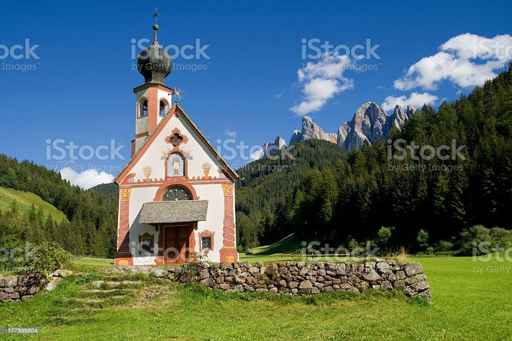 Sankt Johann in Ranui stock photo