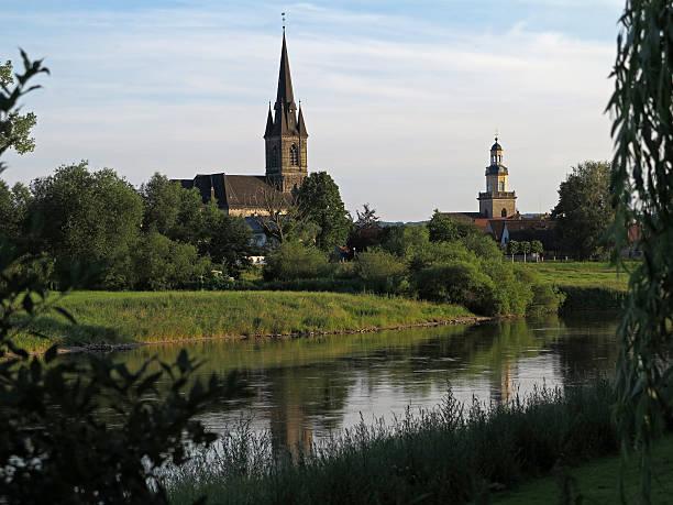 Sankt Sturmius und Weser in Rinteln – Foto