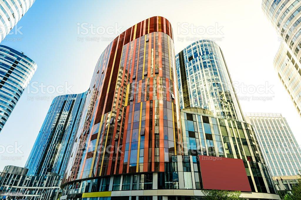Sanlitun landmark office building - SOHO office stock photo