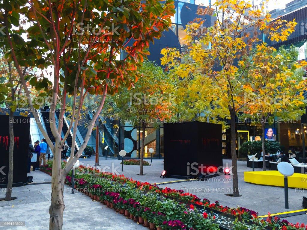 Sanlitun Mall, Beijing stock photo