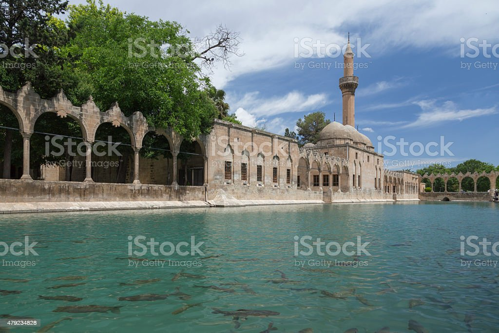 Sanliurfa city, Turkey stock photo