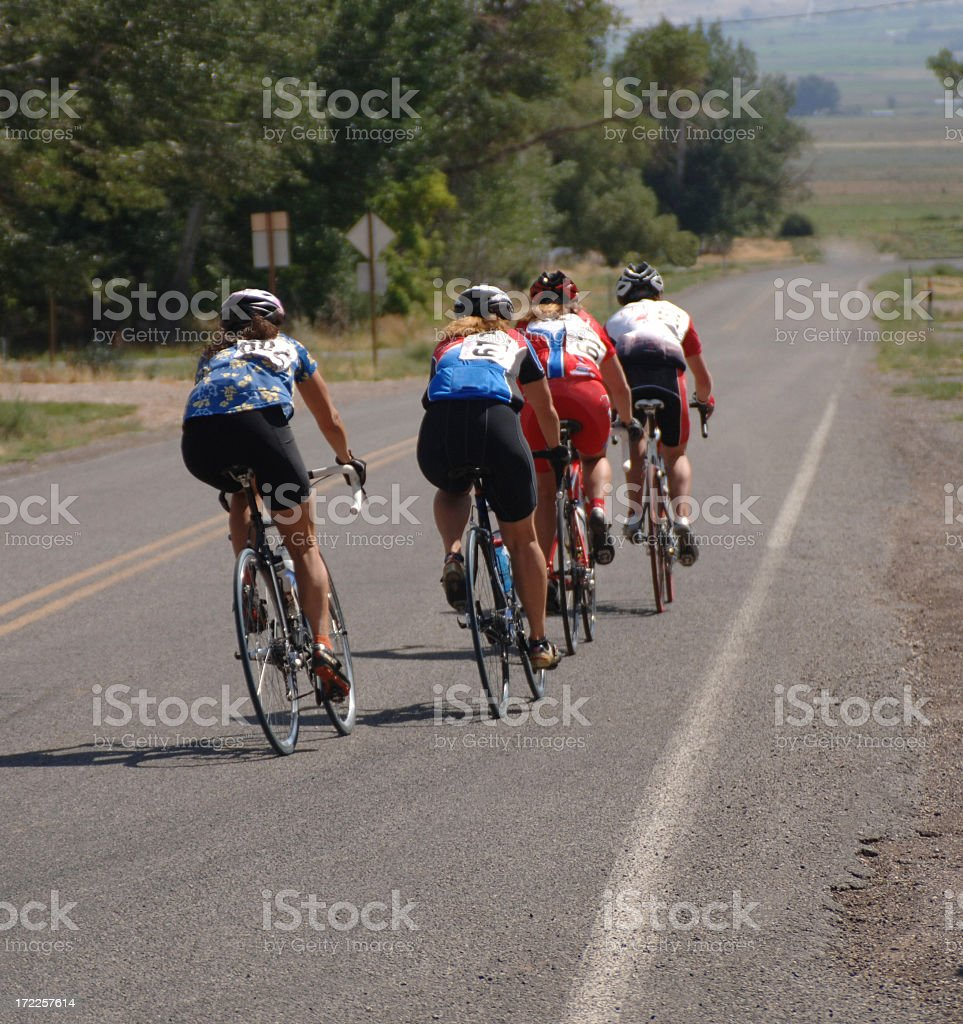 Sanpete Road Race royalty-free stock photo