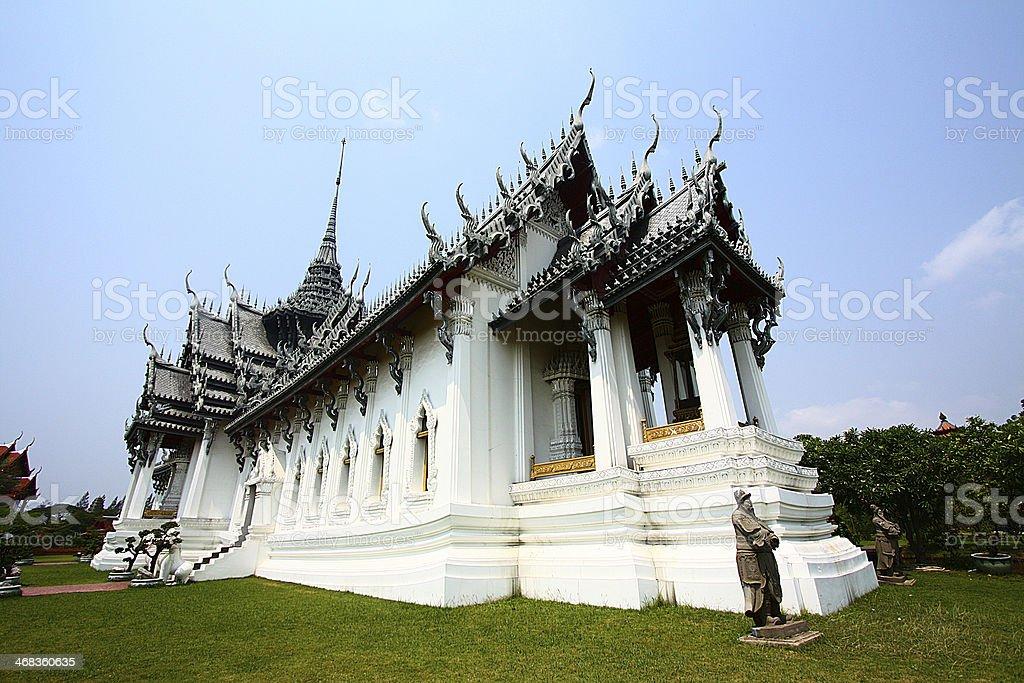 Sanphet Prasat Palace royalty-free stock photo