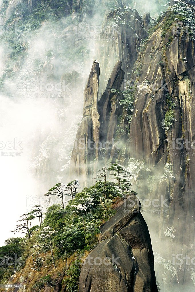 Sanqingshan National Park royalty-free stock photo