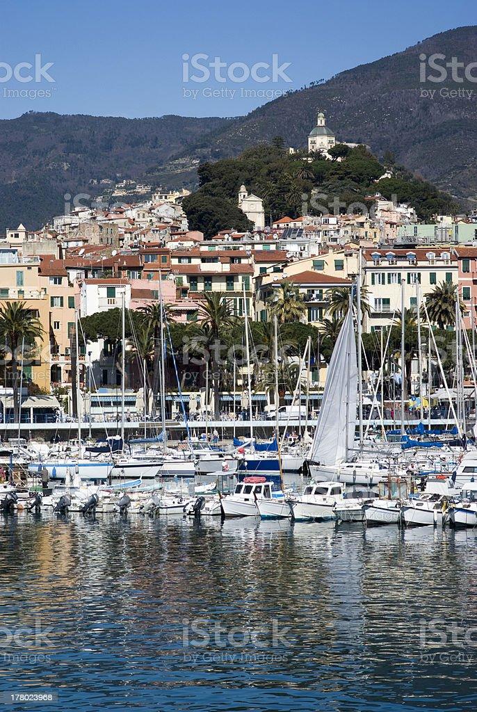 Sanremo, Italy stock photo