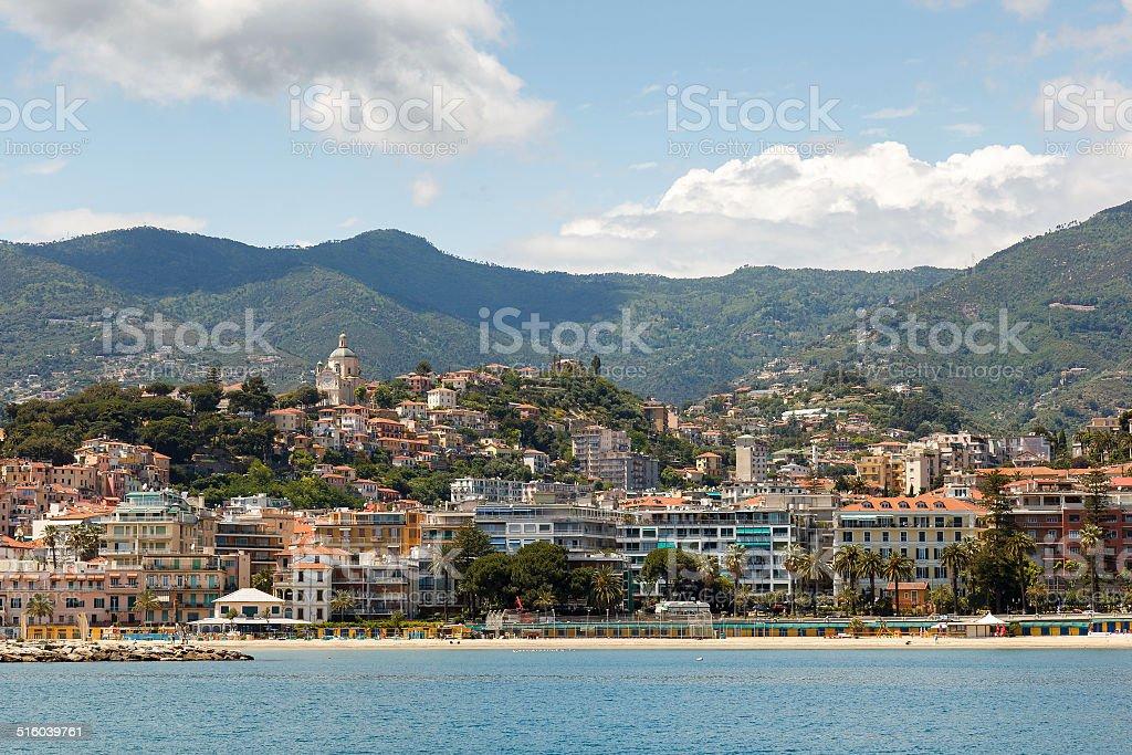 Sanremo or San Remo, Italy stock photo