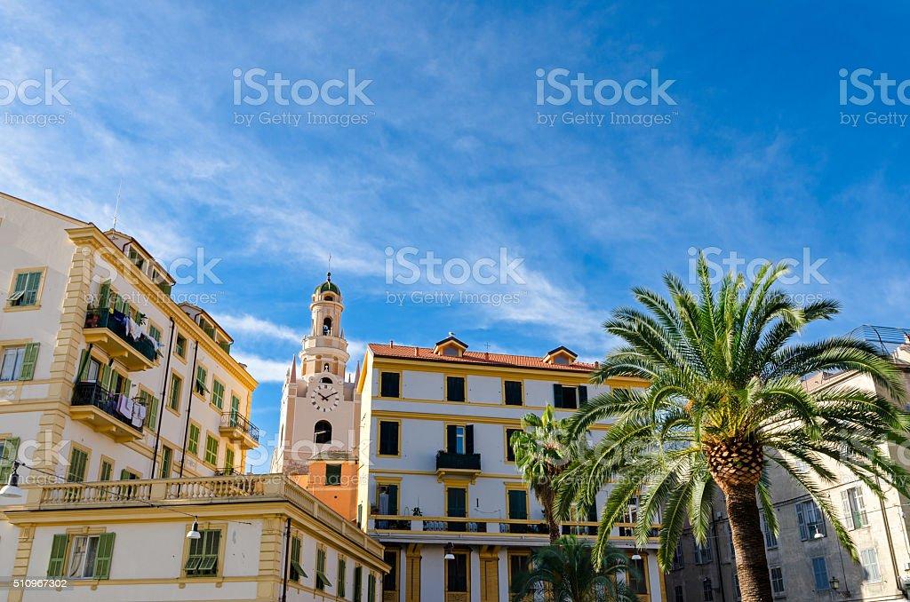 Sanremo (Italy) stock photo