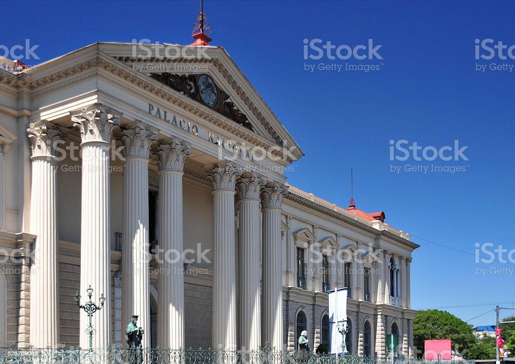 San-Salvador, El-Salvador: the National Palace stock photo