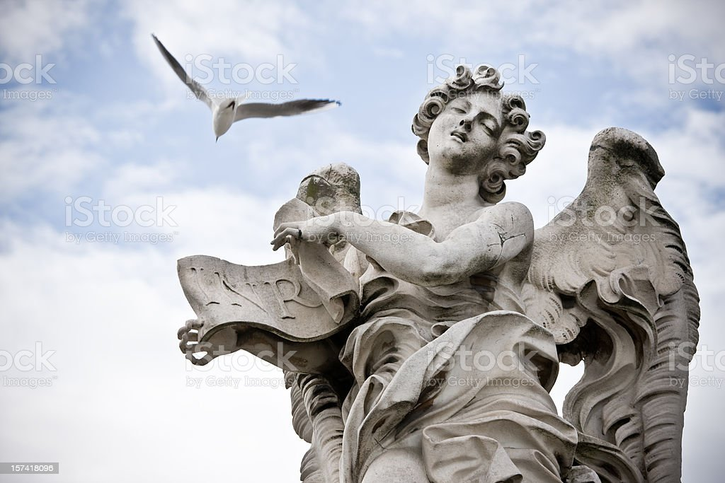Sant Angelo Angel royalty-free stock photo