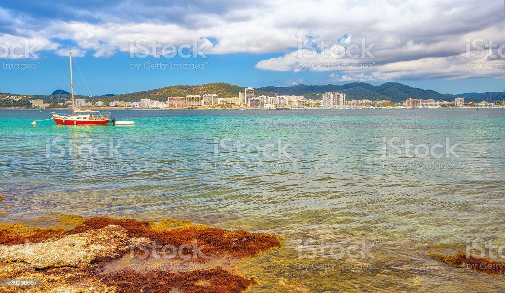Sant Antoni de Portmany (Ibiza) foto de stock libre de derechos
