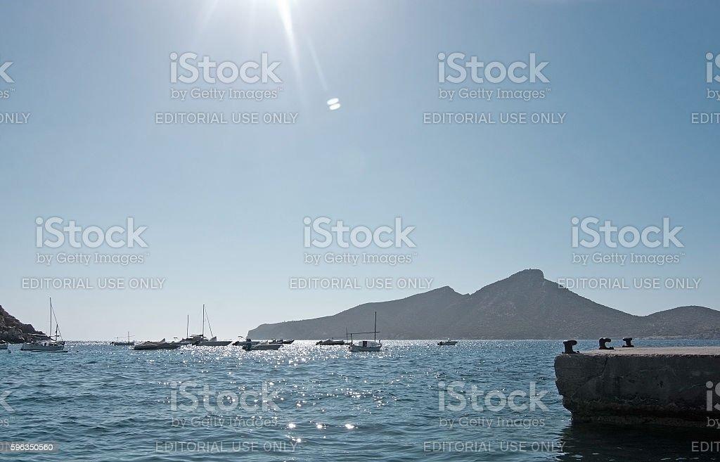 Sant Elm Mallorca royalty-free stock photo
