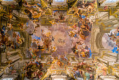 istock Sant Ignazio Church painted ceilings 899252290
