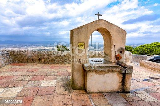 istock Sant Salvador mountain, Mallorca, Spain 1085022876