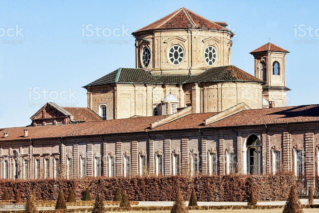 Sant' Uberto Church - Venaria Reale - Italy stock photo