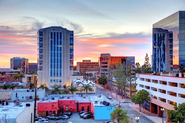 Santa Ana, California stock photo