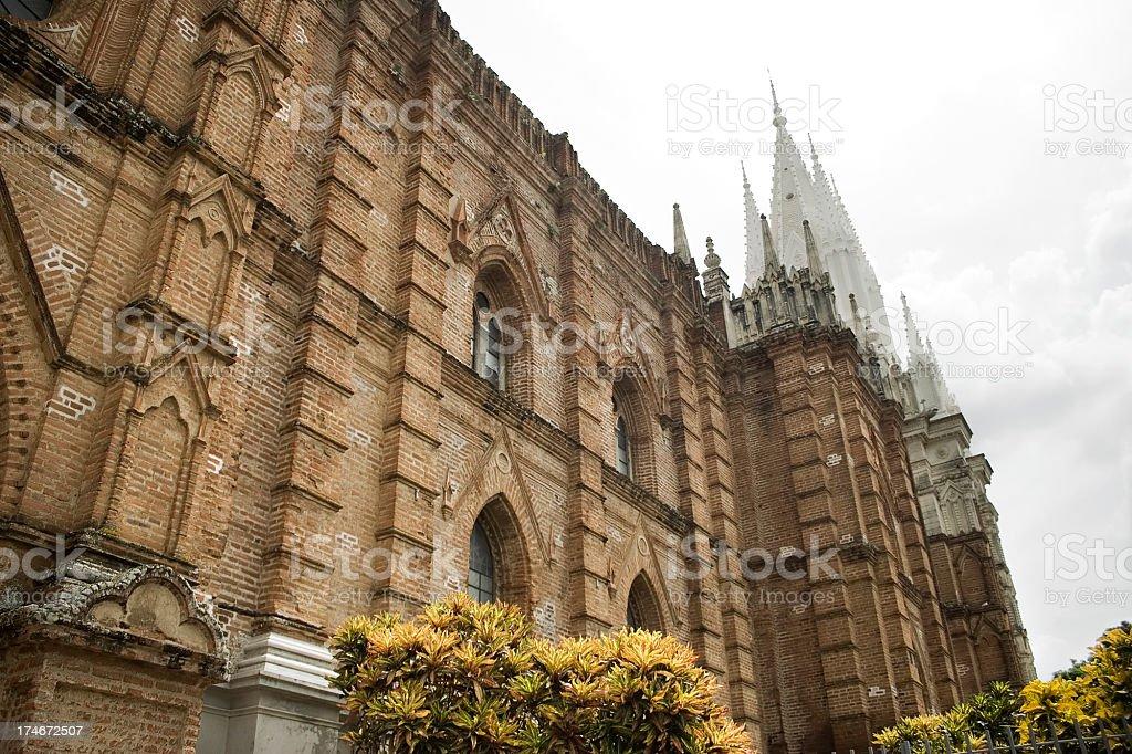 Santa Ana Church royalty-free stock photo