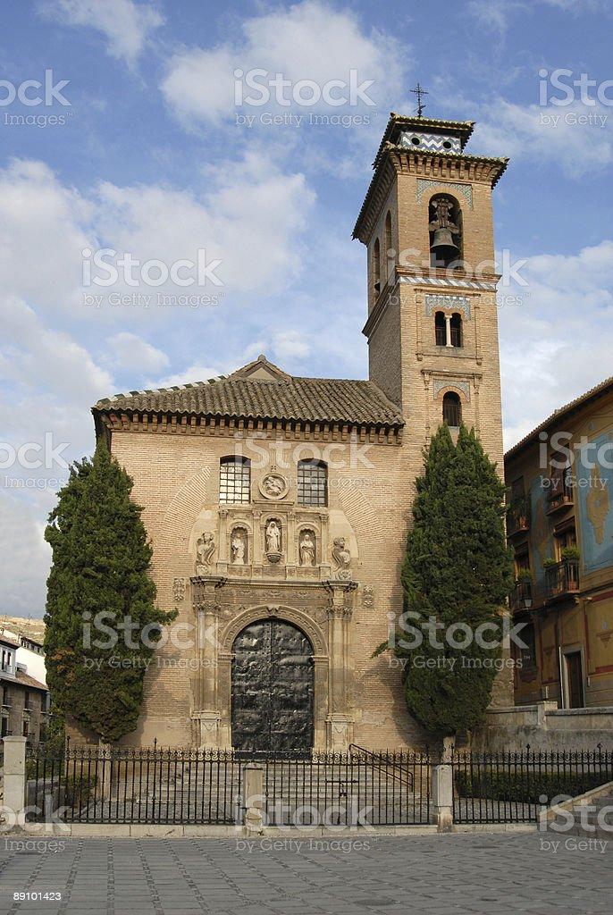 Santa Ana Iglesia royalty-free stock photo