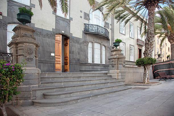 santa ana plaza's befindet - wandleuchte treppenhaus stock-fotos und bilder