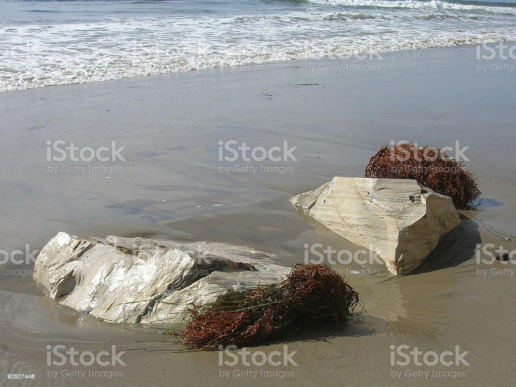 Santa Barbara Coastline  3 royalty-free stock photo