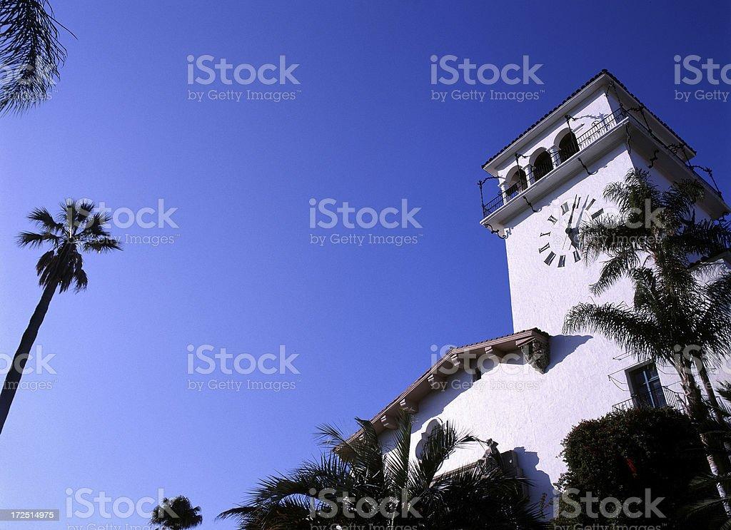 Santa Barbara Courthouse royalty-free stock photo