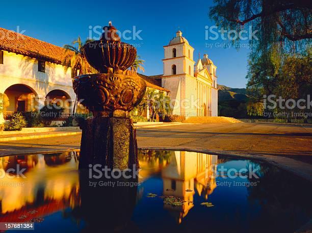 Santa Barbara Mission Stock Photo - Download Image Now