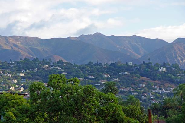 Santa Barbara Overview stock photo
