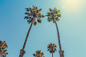 Santa Barbara on Pacific coast of California, USA