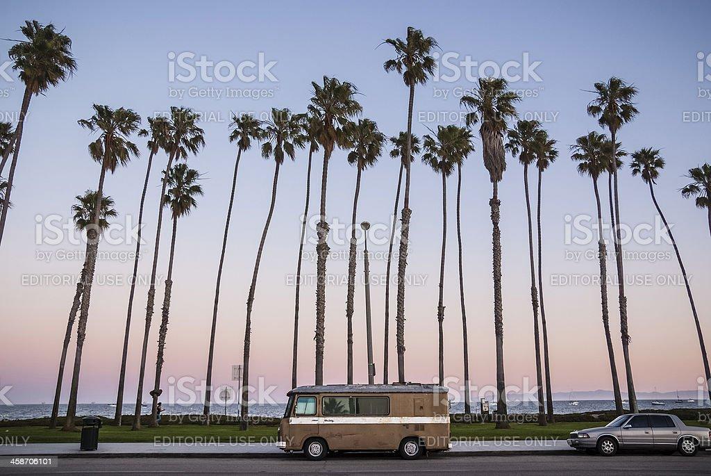 Santa Barbara Promenade stock photo