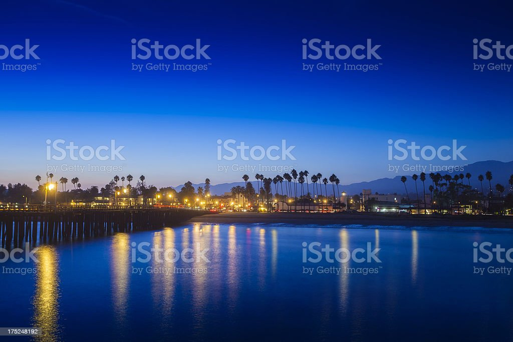 Santa Barbara View royalty-free stock photo