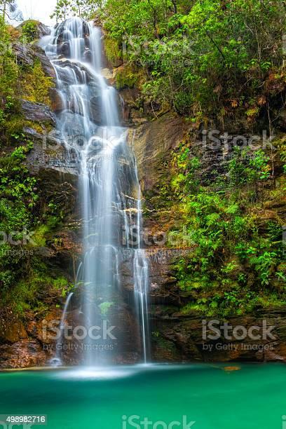 Photo of Santa Barbara waterfall